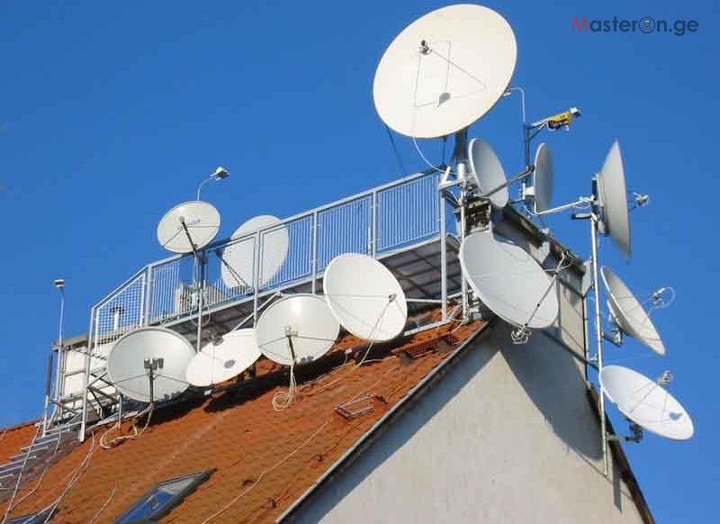 სატელიტური ანტენები НТВ HD(1080P)