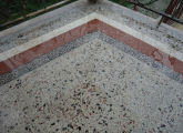მოზაიკის დასხმა შლიფოვკა პალიროვკა / mozaikis dasxma shlipovka palirovka