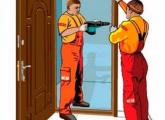კარების მონტაჟი, მდფ-ის კარების მონტაჟი