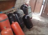 გაზის ბალონები, gazis balonebi