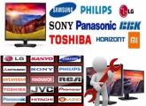 LCD, LED და პლაზმური ტელევიზორების შეკეთება
