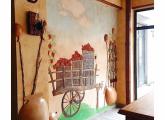 კედლების დეკორატიული გაფორმება და მხატვრული მოხატვა