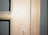 ახალი შიდა კარები მასალის ფასად
