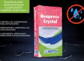 NEOPRESS CRYSTAL - წყალჩამკეტი კრისტალებით გაჯერებული ცემენტოვანი მასა