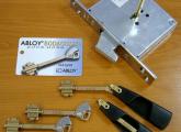 საკეტის დაყენება გაღება შეკეთება კარის რეგულირება kari saketi gaxsna gageba montaji