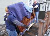 პიანინო - როიალის გადაზიდვა - აწყობა