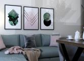 ინტერიერის დიზაინი K² Design as Art