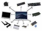 მაკბუქის ნაწილები, macbook parts