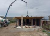 სახლის აშენება, მონოლითი, ღობე, სტიაშკა, კიბე